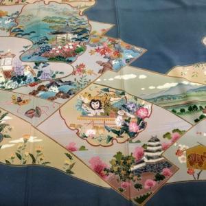 札幌時計台の色留袖