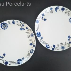 北欧風柄で便利な大皿♪ポーセラーツ