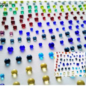 キラキラ!ガラスフュージングの粒