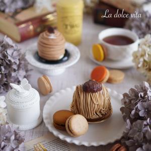 Mont-blanc Tea time ❤️ la patisserie du Fulere