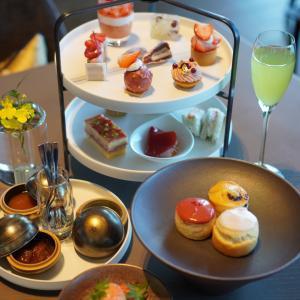 Strawberry Afternoon Tea ❤️ フォーシーズンズホテル東京大手町
