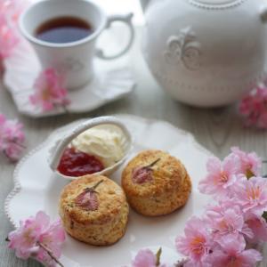 Sakura Cream Tea ❤️