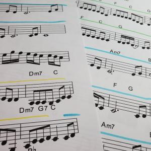 コード弾きはむずかしくない!1段譜でのコード弾き奏方のメリット/ポピュラーピアノ