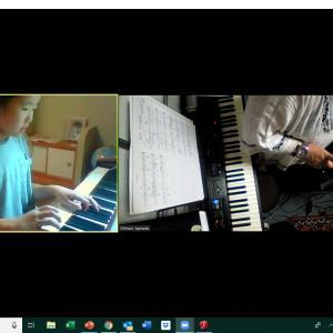 【レッスンレポ】オンラインピアノレッスンコース2人入会が決定しました。感謝です!