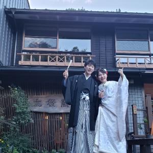大松閣の結婚式!