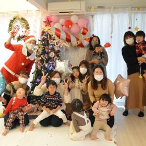 2020クリスマス会2日目☆彡こんな時だからこそ笑える時間を大切に!!!越谷ベビーマッサージ教室