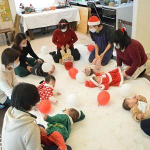 2020クリスマス会3日目☆彡ママ達ともおしゃべりできて楽しい!嬉しい!!!越谷ベビーマッサージ