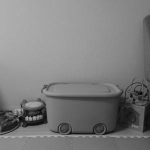 子供スペースの収納計画①