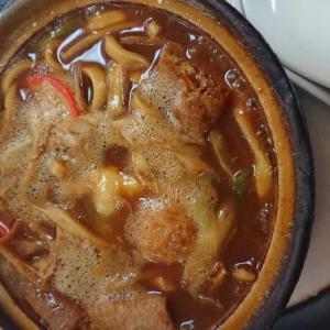 熱々味噌煮込みうどん