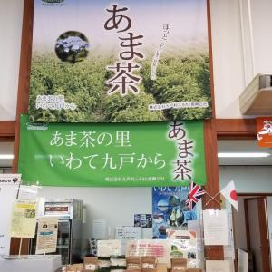 8月5,6日と、二日間、日本で、唯一の甘茶を商品として、展開している岩手県の九戸村を現地見学、