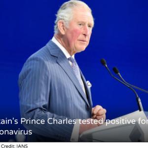 コロナ陽性のチャールズ皇太子、ホメオパシーとアーユルヴェーダで治癒です!
