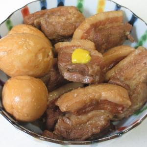 晩ご飯の一品!豚の角煮と手巻き寿司!