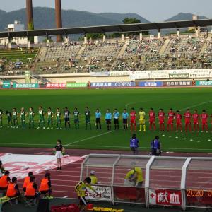 FCホーム熊本戦(J3)2020年