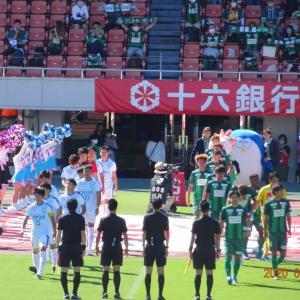 FC岐阜 ホーム沼津戦(J3) 2020年