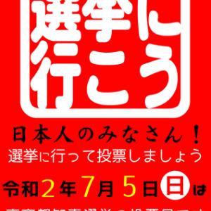 東京都知事選挙が告示されました。