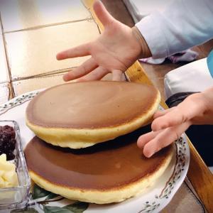 喫茶店 ドルチェのホットケーキ