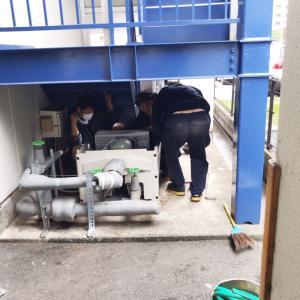 水道ポンプ取り換え完了!