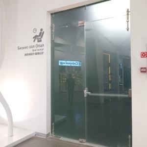 【プライオリティパス】エカテリンブルク・コルツォヴォ国際空港(ターミナルA)OPAL BUSINESS LOUNGE