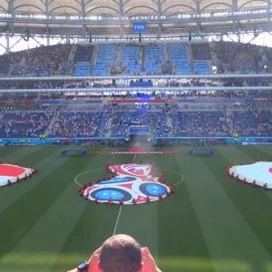 【現地観戦】ロシアW杯  日本 vs ポーランド @ ボルゴグラード・アリーナ、ボルゴグラード、ロシア
