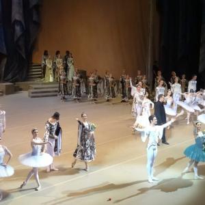 【ボリショイ劇場】ボリショイ・バレエの「ライモンダ」を観る【当日、座席からの見え方】