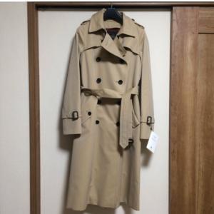 キャメル・ベージュのコート
