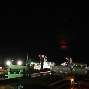 石垣島 月の入り☆