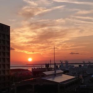 石垣島 冬の夕日☆