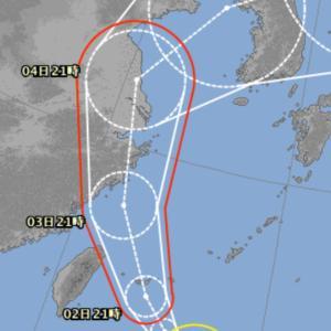 石垣島 今夜は弱台風☆