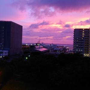 石垣島10月の夕日☆