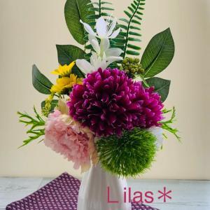 【レッスンご予約】手作りのお供え花の準備オススメです