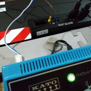 カレラアナログ電源調整とレーンチェンジ