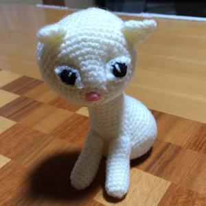 編みぐるみ、途中経過