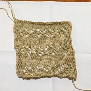マーガレットを編み始めました