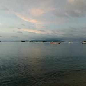 サムイ島今日のサンセット