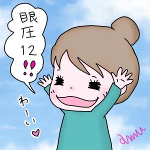 * 1/15眼科へ〜緑内障診察・眼圧12・16。初めての低さ‼ *