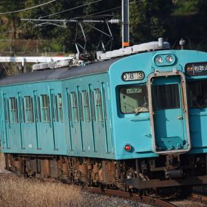 和歌山線の105系