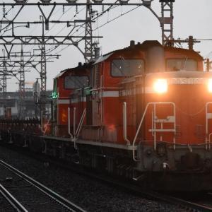 阪和線で珍列車撮影