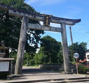 中山神社参拝 令和元年9月8日(日)
