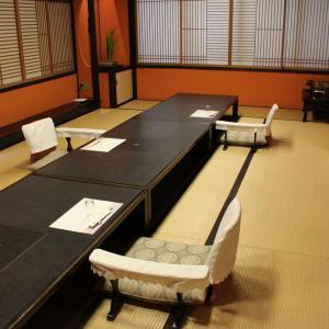 少人数様で、お座敷天ぷらをお愉しみください。