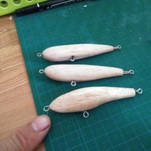 小さなダイビングペンシルを作りたい