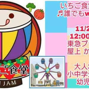 11/23(土)いちご食堂in蒲田! ~誰でもwelcome♬家族みたいにみんなでごはん~