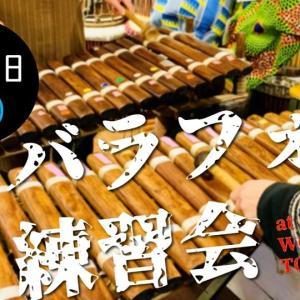 6/27(土) 一期JAM バラフォン定期練習会