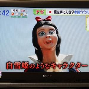 【中国】こんどはTBSテレビのNスタで拙作『中国遊園地大図鑑』シリーズが紹介されました。