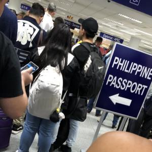 激込みのマニラ空港で・・さらなる悲劇が待ち受けていた(泣)さすがフィリピン(笑)