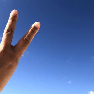 宮古島の青い空と青い海は裏切らないね~宮古ブルー最高\(^_^)/