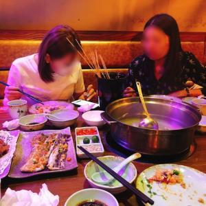 中国美女2人と鶏鍋デートから~中国美人を一人追加して麻雀!いいカモにされる?(笑