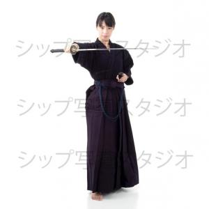 剣道女子のイメージ撮影
