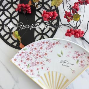 お正月のおもてなし♡桜扇プレート