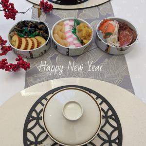 新年のテーブルコーディネート