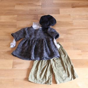 衣替えと過去の秋服。